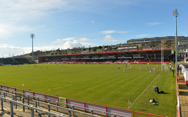 Celtic Park in Derry. Photo: Sportsfile
