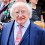 Global reach: President Michael D Higgins