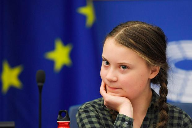 Greta Thunberg refuses to fly to help the environment