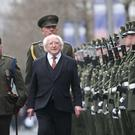 LEADING MAN: President Michael D Higgins is the only Irish politician with a national mandate. More than 820,000 people gave him a first preference in 2018