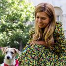 Dogfluencer: Carrie Symonds with No10 dog Dilyn