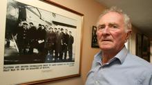 Memories: Harry Gregg on the 50th anniversary of the disaster. Picture: PA