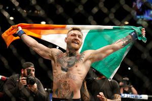 Conor McGregor has jumped up two weight divisions
