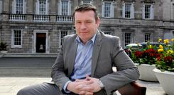 Tipp for the top: Labour's Alan Kelly came up with the General Election slogan: 'Deliver MORE for Tipp'. Photo: Tom Burke