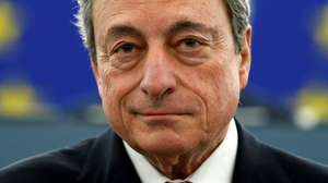 TROUBLE AHEAD: ECB chief Mario Draghi must move quickly to shore up economies across the Eurozone