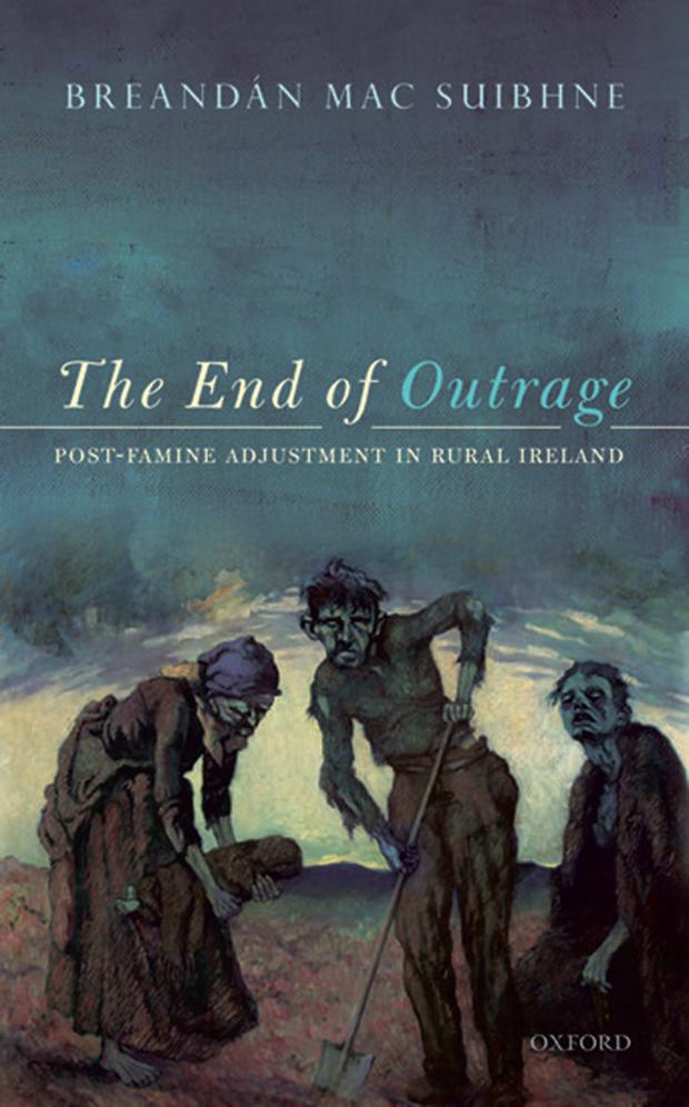 Breandan Mac Suibhne's 'The End of Outrage' (2017) received the inaugural Michel Deon Biennial Prize from the RIA