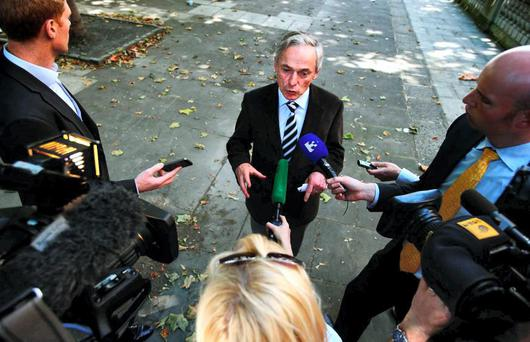 "When asked if the public had been lied to, Mr Bruton said: ""Absolutely not."""