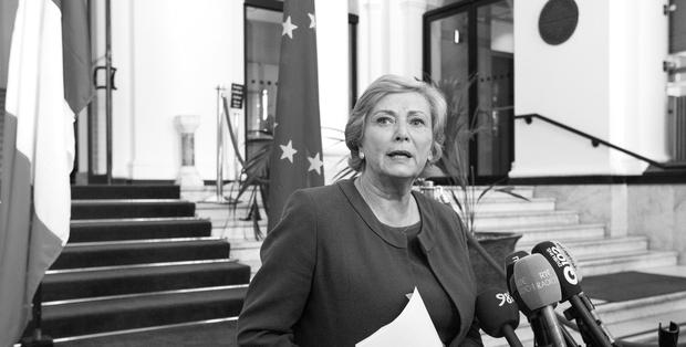 Justice Minister Frances Fitzgerald said there were no plans for another referendum to bring Ireland into line with our obligations under the International Covenant on Civil and Political Rights