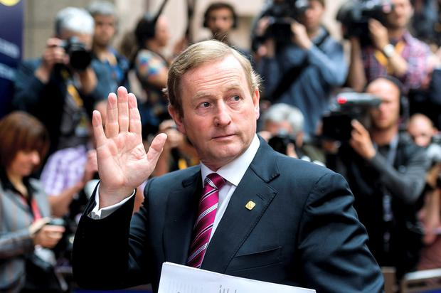 Enda Kenny: a hybrid approach to taxes is being proposed.