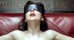 Going a bit too far: Even the violence looks beautiful in 'Fifty Shades of Grey', which will pack out Irish cinemas this weekend