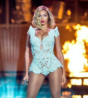 Beyonce: 'I've always considered myself a feminist, but I was afraid of that word because people put so much on it'.