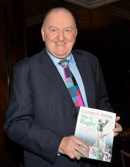 George Hook has penned a 'naughty book