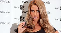 Loose Women star Katie Price headed here for a 24-hour beauty trip