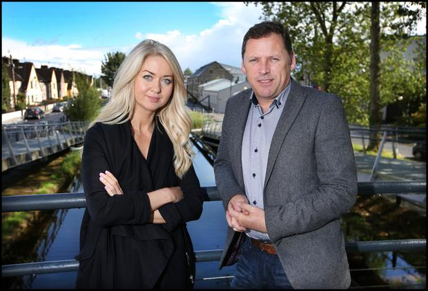 Niamh Horan with Barry Cowen in Tullamore