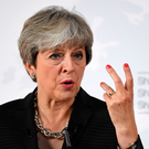 Gesture politics: Theresa May has signalled that the preservation of Tory party unity was her main priority. Photo: Getty Images