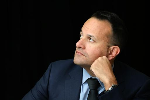 Careless Whispers: Leo Varadkar felt the wrath of the predominantly middle-class media for coming across as too middle-class. Photo: Finbarr O'Rourke