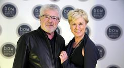Dinner date... Valentine's couple John McColgan and Moya Doherty will be dining at home in their sumptuous pad in Howth