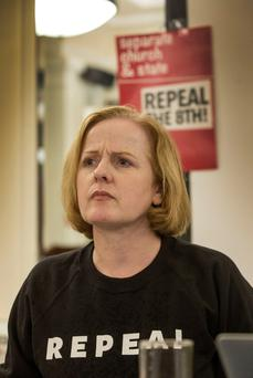 CONCERN: Ruth Coppinger is worried the pro-repeal campaign will be outspent