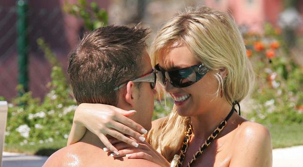 Gorgeous former Miss World Rosanna Davison and hunky husband Wesley Quirke escaped Ireland's chilly temperatures by soaking up the sun in Mauritius. Rosanna revealed than Wes