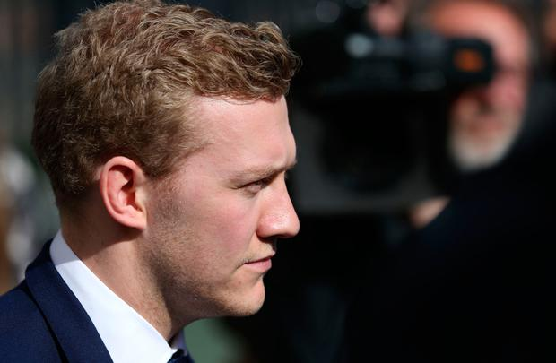 STATEMENT: Stuart Olding could have pocketed his not guilty verdict and walked away. Instead his statement tried to address how the woman at the centre of the case had been treated. Photo: PA