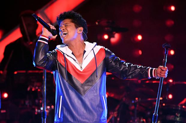 Bruno Mars Photo: Getty Images