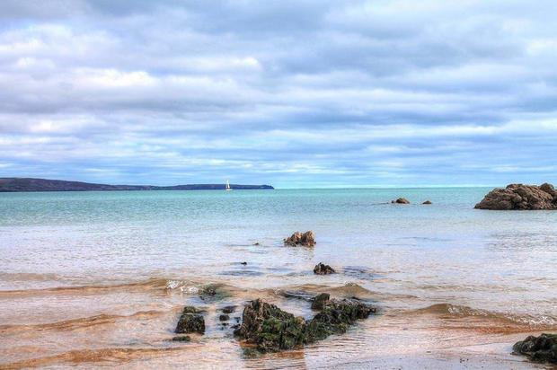 The sea at Myrtleville, Co Cork. Photo: John O'Sullivan