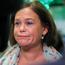 DEFEAT: Mary Lou McDonald at the election count