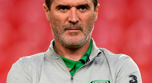 Force of nature: Roy Keane at the friendly against Turkey last March. Photo: Stephen McCarthy