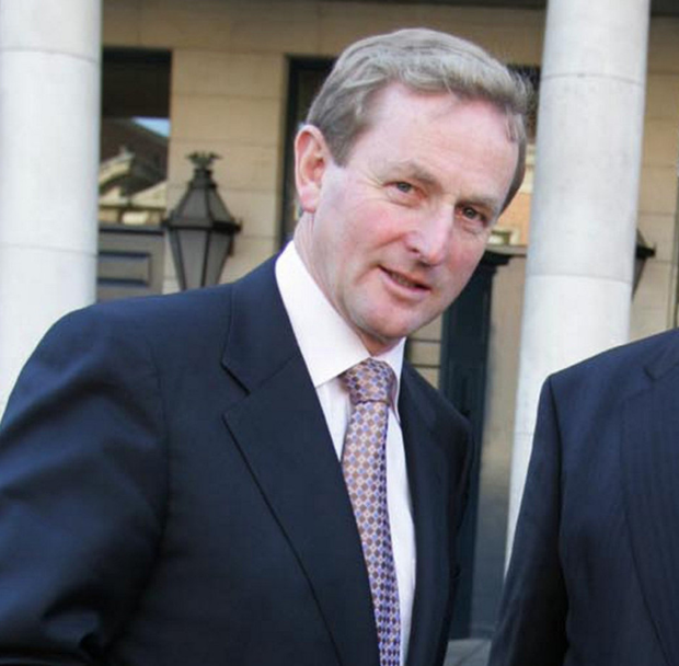 USE THEM: Enda Kenny (pictured), Brian Cowen, John Bruton and Bertie Ahern. These former taoisigh could be called on to put their years of experience to good use