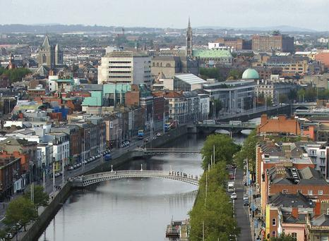 Dublin is viewed favourably by foreign investors