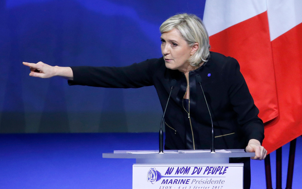Front National president Marine Le Pen Photo: Chesnot/Getty Images