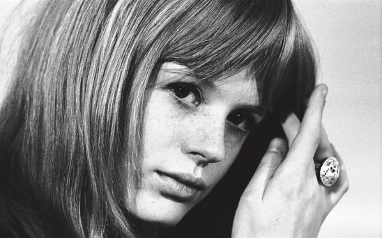 Marianne Faithfull photograhed in 1966, says sexual liberation in the Sixties was not 'wonderful or wild'