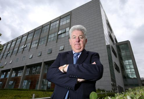 Jimmy Menton, Chairman of St Vincents Health Care group, pictured outside St Vincents Hospital.