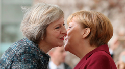 British Prime Minister Theresa May has had a frosty relationship with the German Chancellor Angela Merkel and many other EU leaders