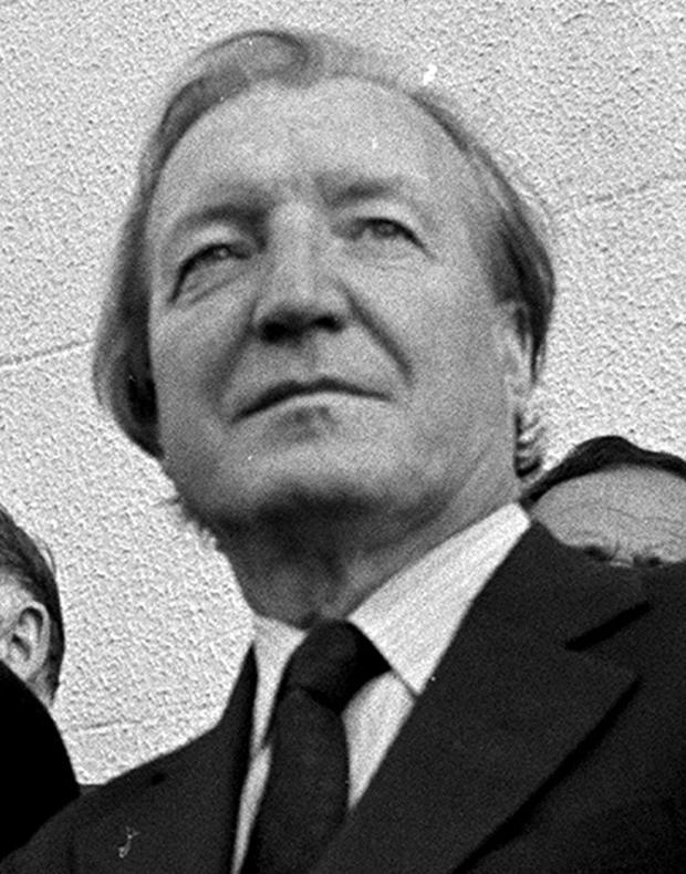 Haughey: a little man who wanted to be big