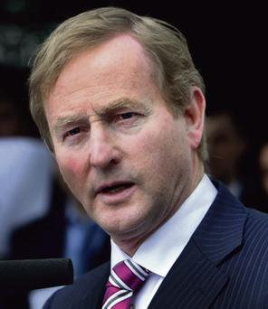 HISTORY: Enda Kenny has had testy exchanges with SF