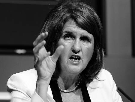 Minister for Social Protection Joan Burton. Photo: Frank Mc Grath