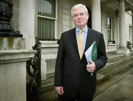 "Tanaiste Eamon Gilmore said the Government ""was close to an agreement"" on water charges"