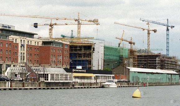 LIFT: Construction jobs, housing activity and house prices must be returned to sensible levels. Photo: Gerry Mooney