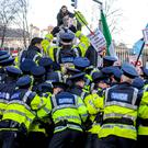 KEEPING ORDER: The water charges led to resentment among the public and widespread protests, and the impending new rules on mortgage lending have the potential to do the same. Collins Photos.