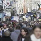 Christmas shopping on Grafton Street: by January 1 I have had more than enough of the festive season.