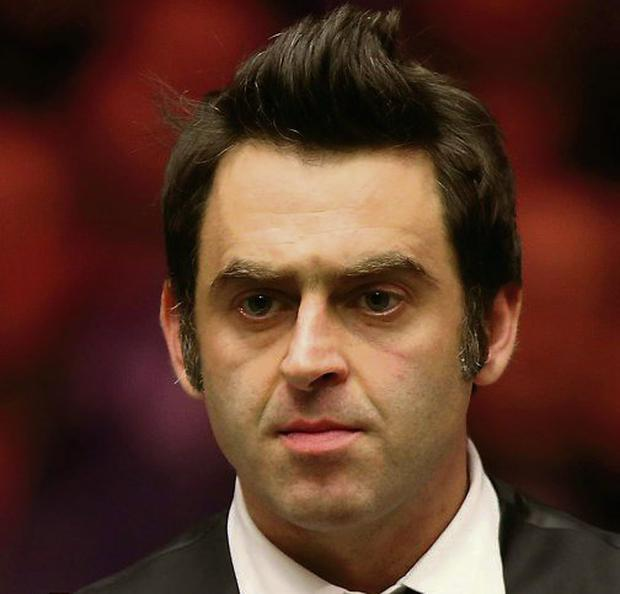 Ronnie O'Sullivan. Photo: John Walton/PA Wire