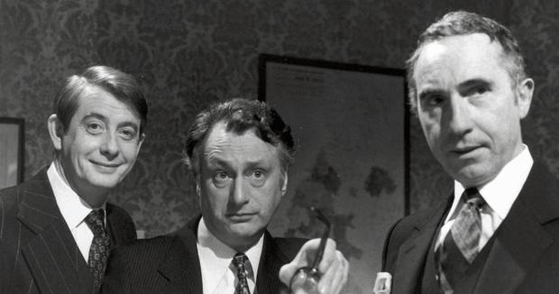The British comedy 'Yes Minister' in which Sir Humphrey, right, always tried to stymie his idealistic minister, James Hacker, centre. PA