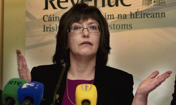 Feisty Form: Chairman of the Revenue Commissioners, Josephine Feehily