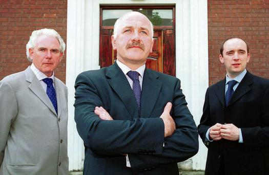 Custom House Capital: From left, director John Mullholland, chief executive Harry Cassidy and investment director John Whyte
