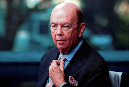 Money Man: Wilbur Ross took the State to the cleaners with his BoI windfall. Now he's eyeing up Irish property. Photo: Simon Dawson/Bloomberg