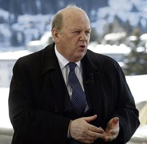 MICHAEL NOONAN: His craftily worded statement left the door open for reintroduction of bankers' perks in the future. Photo: Simon Dawson/Bloomberg