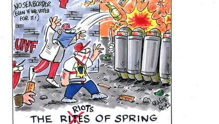 The riots of spring
