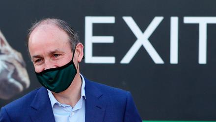 Taoiseach Micheál Martin is the envy of many EU leaders because of Ireland's high vaccination rate. Photo: Niall Carson/PA