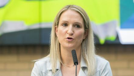 Weaponisation of cancel culture: Justice Minister Helen McEntee plans to toughen up our legislation on so-called 'hate speech'. Photo by Gareth Chaney/Collins